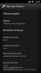 Sony Xperia U - Software - Installieren von Software-Updates - Schritt 6