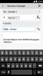 Bouygues Telecom Ultym 5 - E-mails - Envoyer un e-mail - Étape 9