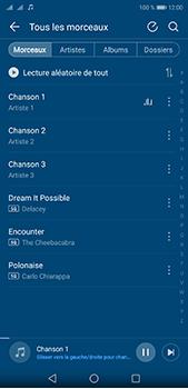 Huawei P20 pro - Photos, vidéos, musique - Ecouter de la musique - Étape 5