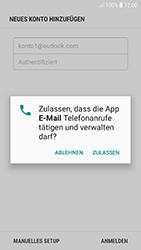 Samsung Galaxy A5 (2017) - Android Oreo - E-Mail - Konto einrichten (outlook) - Schritt 9