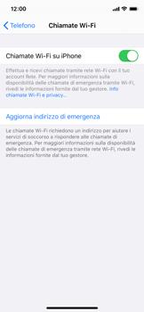 Apple iPhone 11 Pro - WiFi - Attivare WiFi Calling - Fase 8