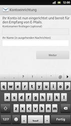 Sony Xperia S - E-Mail - Manuelle Konfiguration - Schritt 16