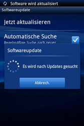 Sony Ericsson Xperia X8 - Software - Update - Schritt 9