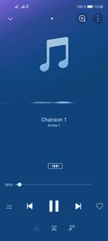 Huawei P40 Lite 5G - Photos, vidéos, musique - Ecouter de la musique - Étape 11