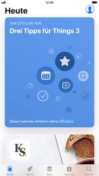 Apple iPhone 8 Plus - Apps - Löschen und wiederherstellen von vorinstallierten iOS-Apps - 0 / 0