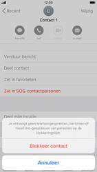Apple iPhone SE (2020) (Model A2296) - Beveiliging en ouderlijk toezicht - Nummer blokkeren - Stap 6
