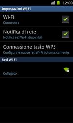 Samsung Galaxy S Advance - WiFi - Configurazione WiFi - Fase 9