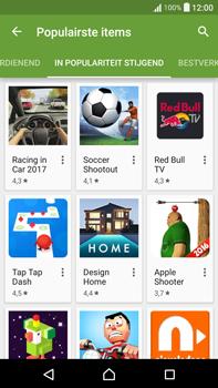 Sony Xperia XA Ultra (F3211) - apps - app store gebruiken - stap 10