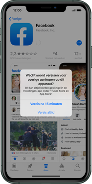 Apple iPhone 8 - iOS 13 - apps - account instellen - stap 26