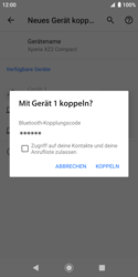 Sony Xperia XZ2 Compact - Android Pie - Bluetooth - Geräte koppeln - Schritt 9