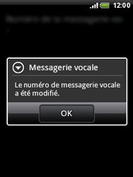 HTC A3333 Wildfire - Messagerie vocale - configuration manuelle - Étape 8