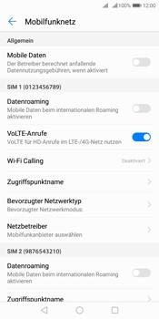 Huawei Y7 (2018) - Internet und Datenroaming - Prüfen, ob Datenkonnektivität aktiviert ist - Schritt 5