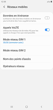 Samsung Galaxy J4 Plus - Réseau - activer 4G - Étape 6