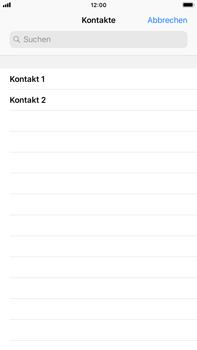 Apple iPhone 6 Plus - iOS 12 - MMS - Erstellen und senden - Schritt 7