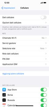 Apple iPhone XS Max - iOS 13 - Internet e roaming dati - Come verificare se la connessione dati è abilitata - Fase 4