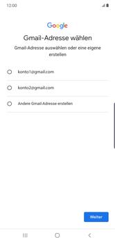 Samsung Galaxy Note 10 Plus 5G - Apps - Einrichten des App Stores - Schritt 10