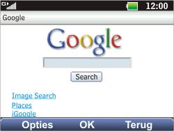 LG C360 Golf - Internet - Internet browsing - Step 8