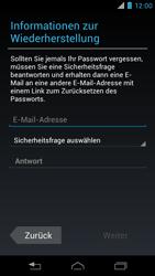 Motorola XT890 RAZR i - Apps - Konto anlegen und einrichten - Schritt 11