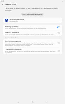 Samsung galaxy-tab-a-10-5-sm-t595-android-pie - Beveiliging en ouderlijk toezicht - Zoek mijn mobiel inschakelen - Stap 7