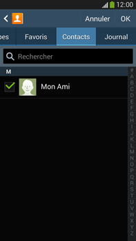 Samsung Galaxy Note 3 - Contact, Appels, SMS/MMS - Envoyer un SMS - Étape 8