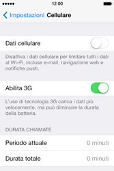 Apple iPhone 4S iOS 7 - Internet e roaming dati - configurazione manuale - Fase 5