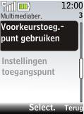 Nokia 2720 fold - MMS - Handmatig instellen - Stap 9