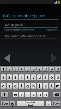 Samsung Galaxy Note 3 - Premiers pas - Créer un compte - Étape 14