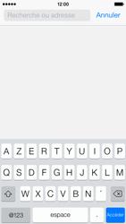 Apple iPhone 5c - Internet - navigation sur Internet - Étape 3