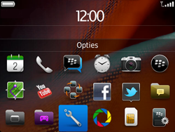 BlackBerry 9900 Bold Touch - Instellingen - ontvangen via SMS - Stap 3