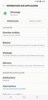 Samsung Galaxy S8+ - Applications - Supprimer une application - Étape 6