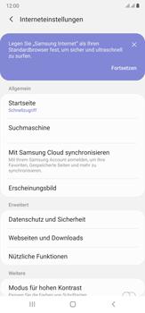 Samsung Galaxy Note 20 Ultra 5G - Internet und Datenroaming - Manuelle Konfiguration - Schritt 28