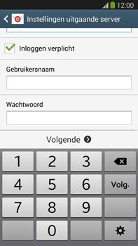 Samsung N9005 Galaxy Note III LTE - E-mail - Account instellen (POP3 zonder SMTP-verificatie) - Stap 13