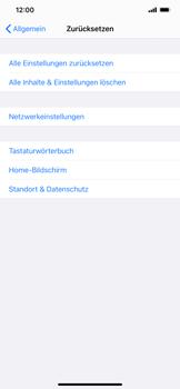 Apple iPhone 12 - Gerät - Zurücksetzen auf die Werkseinstellungen - Schritt 5