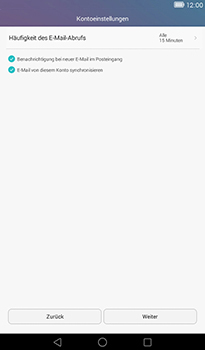 Huawei MediaPad T1 (7.0) - E-Mail - Konto einrichten - 18 / 22