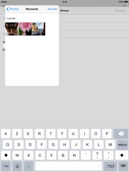 Apple The New iPad iOS 8 - E-mail - Envoi d