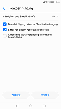 Huawei P10 Plus - E-Mail - 032c. Email wizard - Outlook - Schritt 7