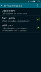 Samsung G850F Galaxy Alpha - Software - Installing software updates - Step 7