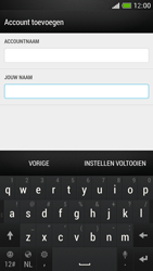 HTC One Mini - E-mail - Account instellen (POP3 met SMTP-verificatie) - Stap 20