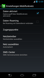Motorola XT890 RAZR i - Ausland - Im Ausland surfen – Datenroaming - Schritt 8