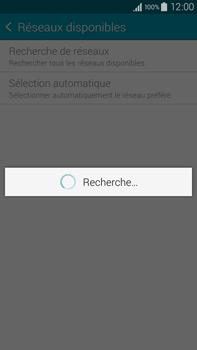 Samsung Galaxy Note 4 - Réseau - Sélection manuelle du réseau - Étape 8