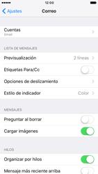 Apple iPhone 6s iOS 10 - E-mail - Configurar Gmail - Paso 9